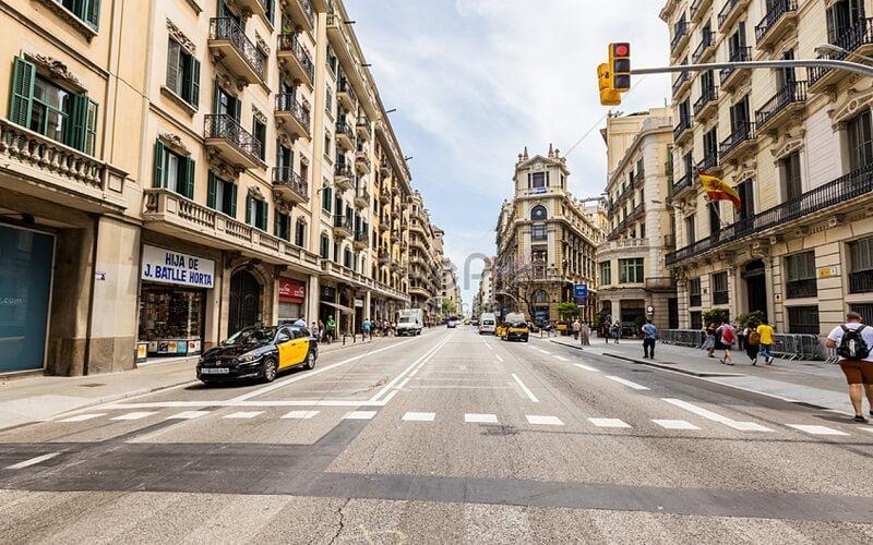 Permisos para hacer una mudanza en Barcelona