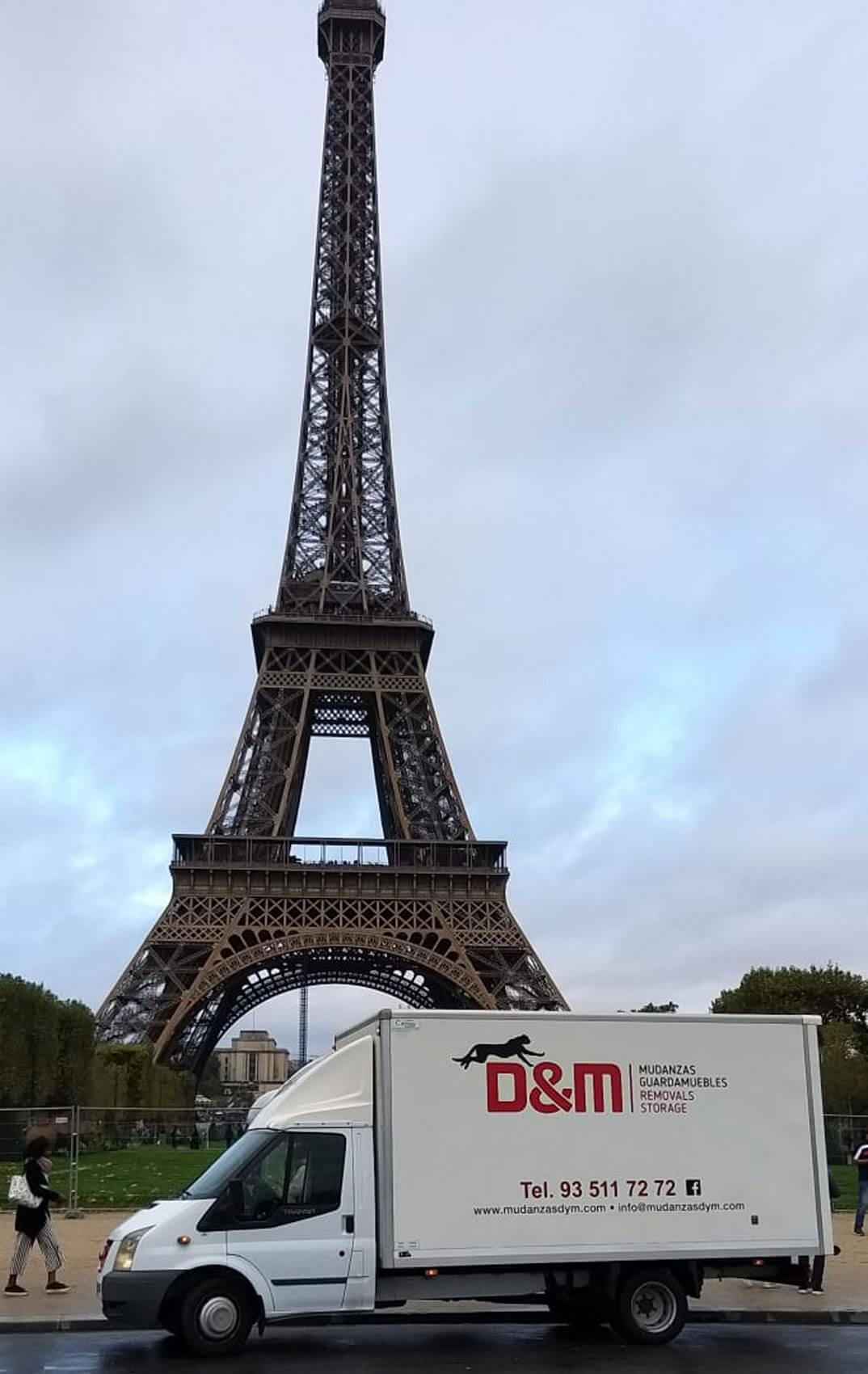 Mudanzas D&M en Paris
