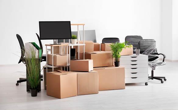 cajas de mudanza de oficina