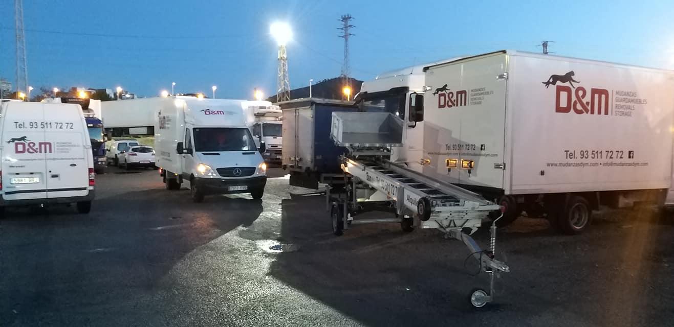 tipos de camiones para mudanzas